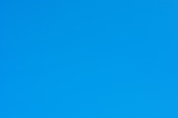 Clear blue sky background without any clouds