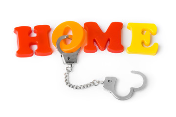 Home and handcuffs