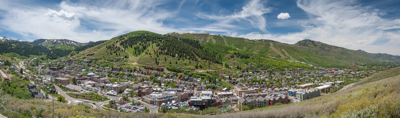 Park City Utah Panorama - Summer