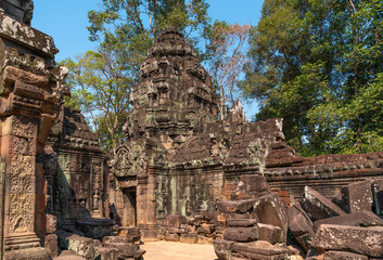 Palaces and temples of ancient Angkor