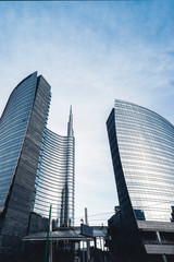 Tuinposter Milan Skyscraper in Milan