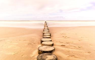 Droga do morza.