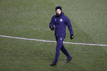 Champions League - Schalke 04 Training