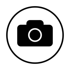 Camera Icon . Camera symbol for your web site design