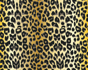 Vector leopard Seamless pattern.
