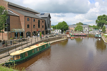 Brecon Canal Basin, Wales