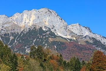 Berchtesgadener Hochthron, Gipfel des Untersbergmassivs in Bayern