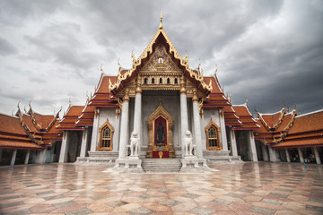 The Marble Temple in Bangkok