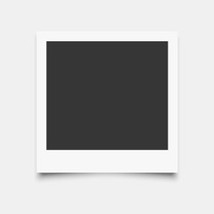 Wall Mural - Photo frame mockup