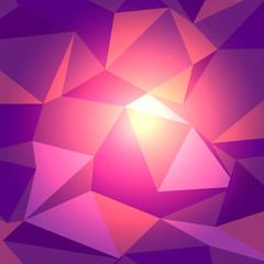 Dark Red with Light Low Poly Backdrop
