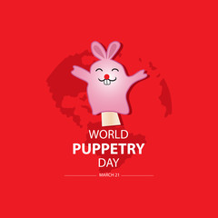 World Puppetry Day, 21 March.