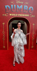 "Cast member Eva Green poses at the premiere for the movie ""Dumbo"" in Los Angeles"