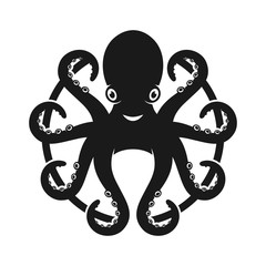 mascot doctor octopus design