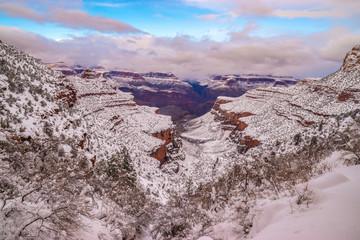 Beautiful Sunrise to Sunset Hike Through Grand Canyon National Park in Arizona