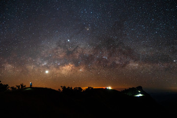 The Milky Way viewpoint from Northern Thailand