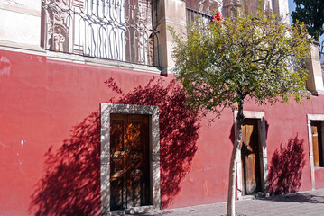 The languid afternoon scenery of Guanajuato