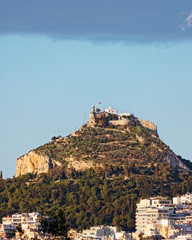 Lycabbbetus hill, Athens Greece