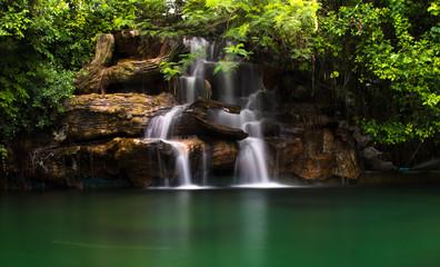 Small Landscape waterfall in Bangkok