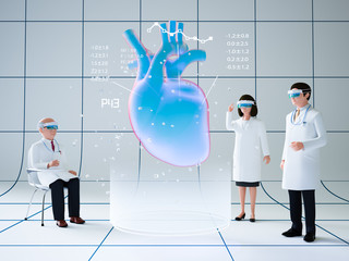 拡張現実を利用した医療