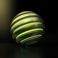 Golden Globe Light green