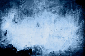 blue grungy background with spotlight background