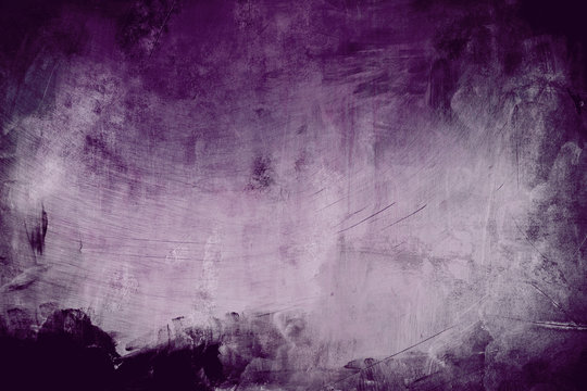 purple grungy background with spotlight background