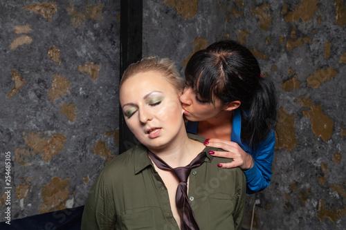 Sensual Lesbian Love Making