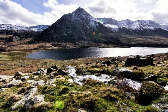 Tryfan Snowdonia North Wales