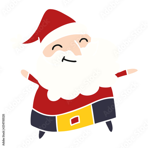 Father Christmas Cartoon Images.Cartoon Of A Jolly Father Christmas Stock Image And Royalty