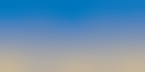 Blue sky morning gradient background. Abstract blurred vector wallpaper for template.