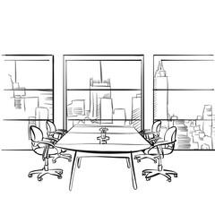 Interior metropolis office