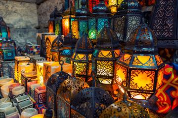 muslim style's lantern shining