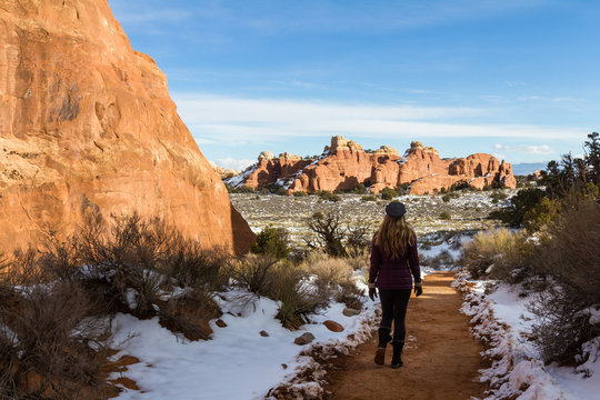 Winter in Arches NP