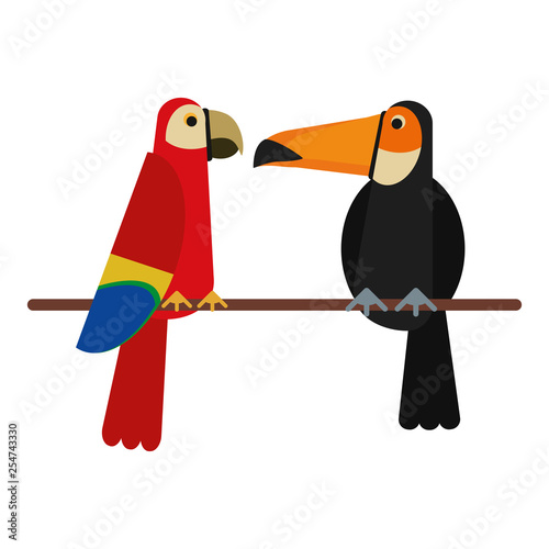 Exotic Birds Cartoons Stock Image And Royalty Free Vector Files On