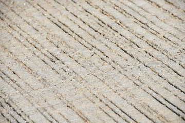 Grooved Pavement
