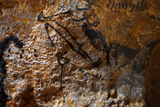 Le seul homme peint dans la grotte de Lascaux