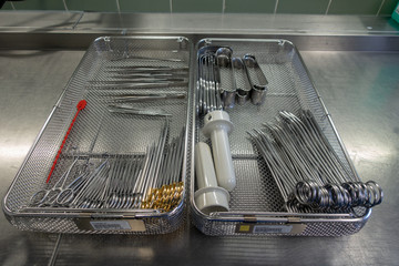 various surgical instruments