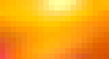 Warm Orange Trendy Square Mosaic Backdrop Design