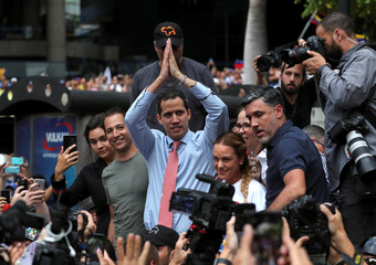 Protest against Venezuelan President Nicolas Maduro's government in Caracas