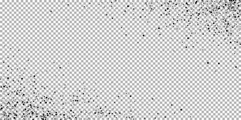 Scattered dense balck dots. Dark points dispersion Wall mural