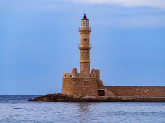 The lighthouse of Chania - Crete, Greece