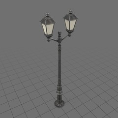 Vintage light pole