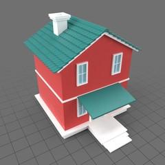 Stylized house 2