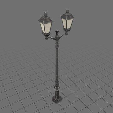 Vintage light pole