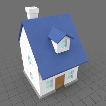 Stylized house 4