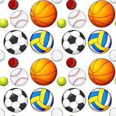 Seamless ball pattern concept
