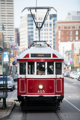 Trolley Car Downtown