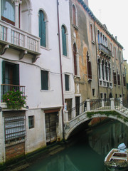 Venice. Beautiful city of Italy. Year 2005