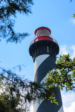 A lighthouse in Florida