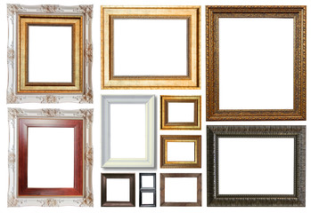 Group of luxury picture frame
